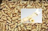 4 kg (ca. 360 Stück) Ofenanzünder aus Holzwolle in Wachs getränkt - 5